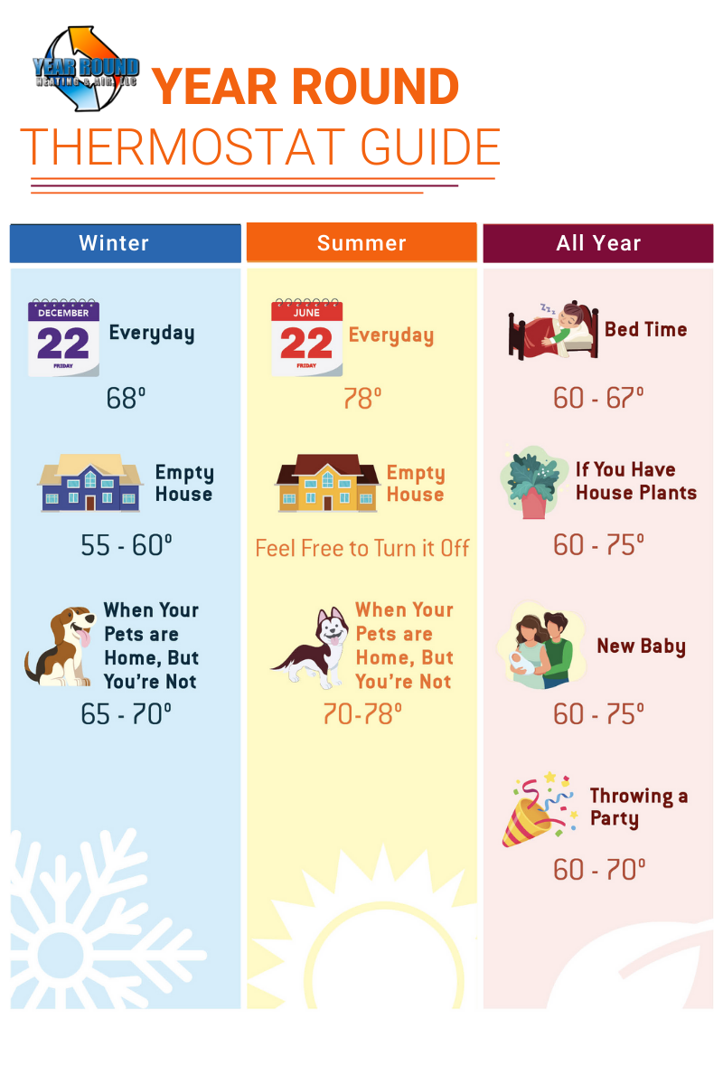 Thermostat Guide Infographic